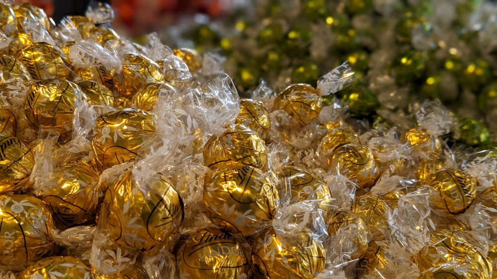 lindt chocolate factory chocolate balls