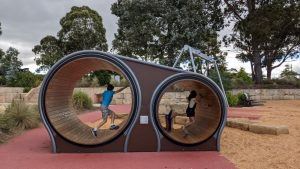lithgow adventure playground mouse wheels