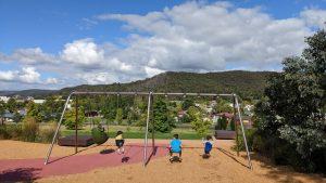 lithgow adventure playground swings