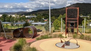 lithgow adventure playground view