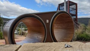 lithgow adventure playground double mouse wheels