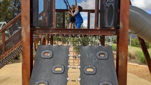 lithgow adventure playground climbing walls