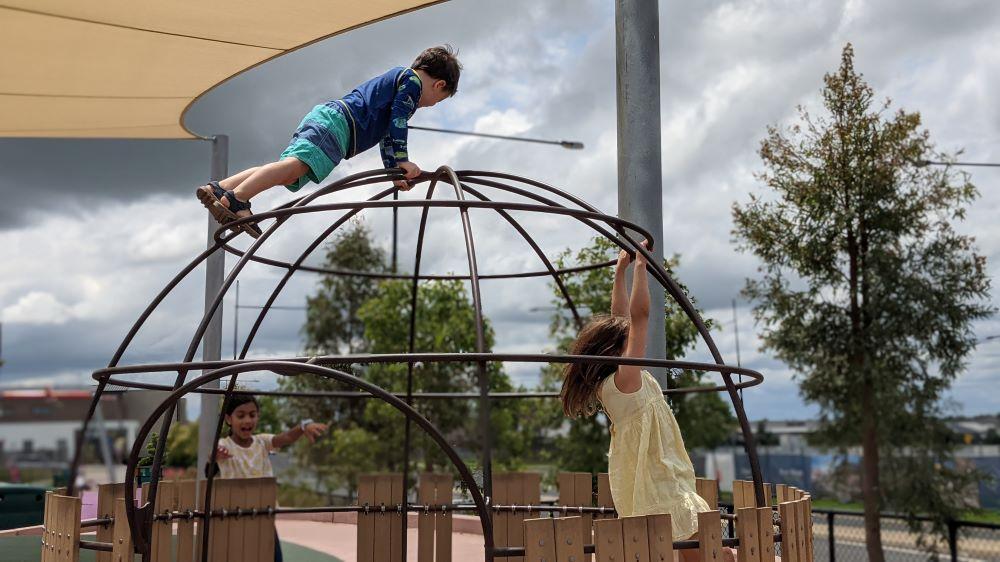 livvi's place elara marsden park climbing frame