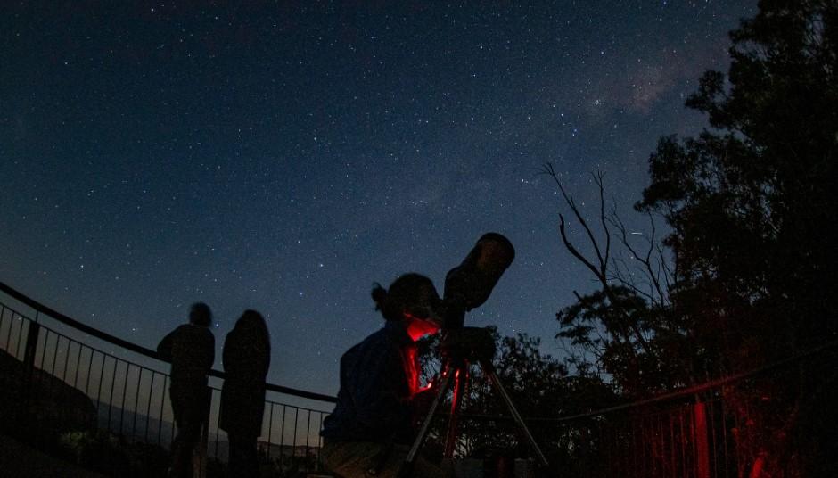 blue mountains star gazing wentworth falls school holidays activity
