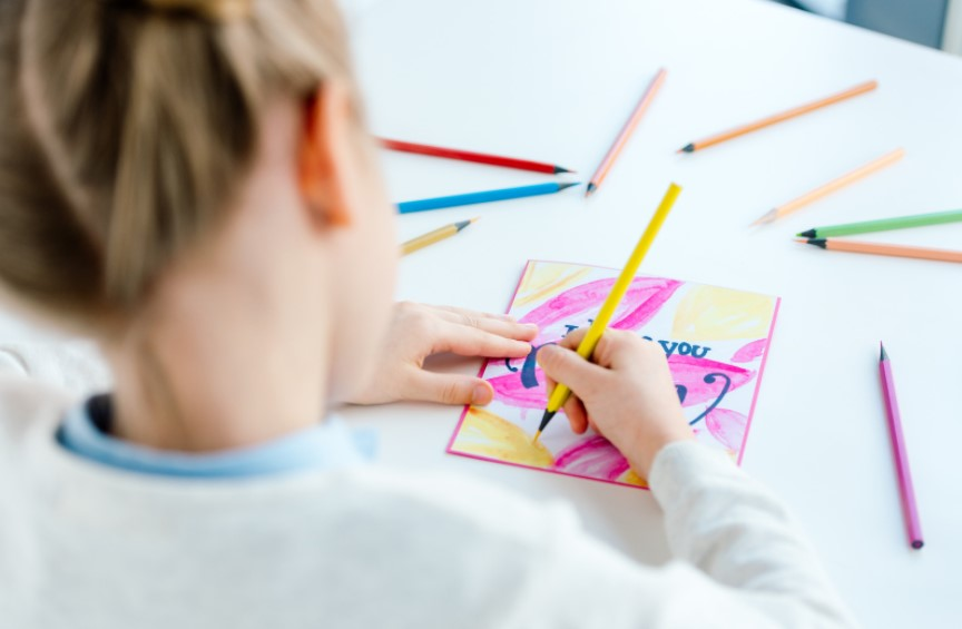 Blue Mountains City Library Autumn April Easter School Holidays activities watercolour class