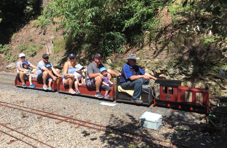wascoe siding miniature railway blaxland blue mountains