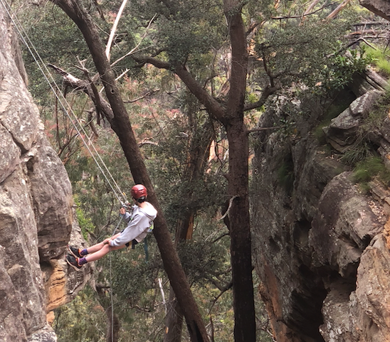 Zoom Therapy Services Adventure Group Blue Mountains autumn school holiday activities