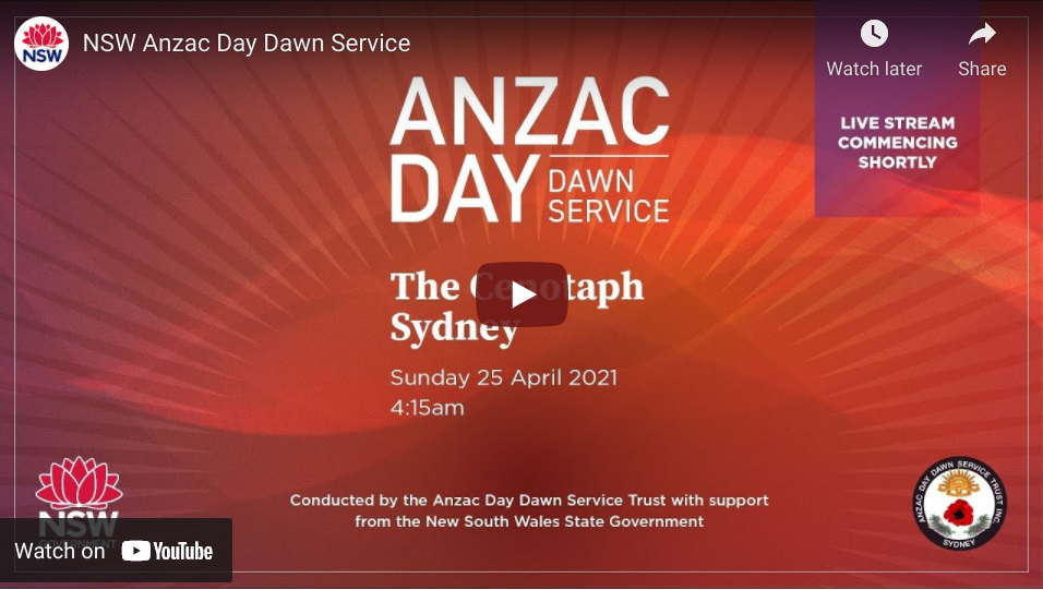 ANZAC Day Blue Mountains dawn service