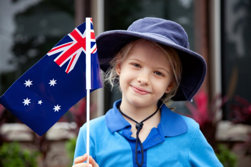 ANZAC Day Blue Mountains and children
