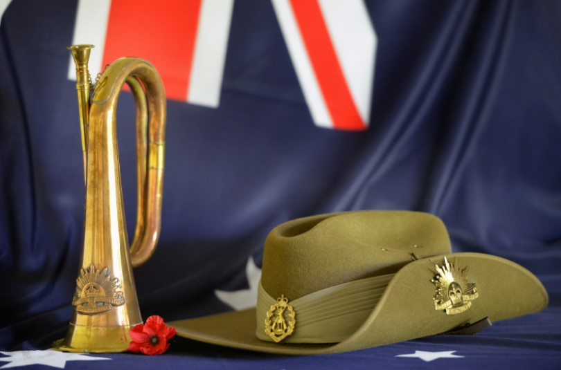 ANZAC Day Blue Mountains read the ode