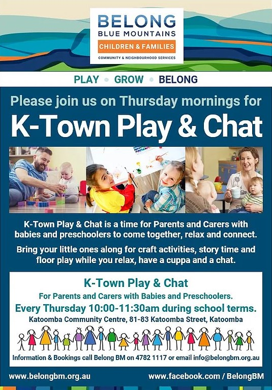 k-town play and chat katoomba playgroup