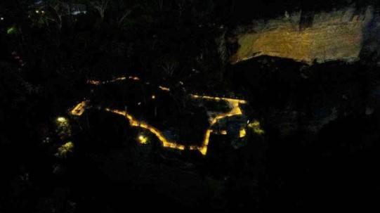 Katooomba Falls Reserve Night Lit Walk