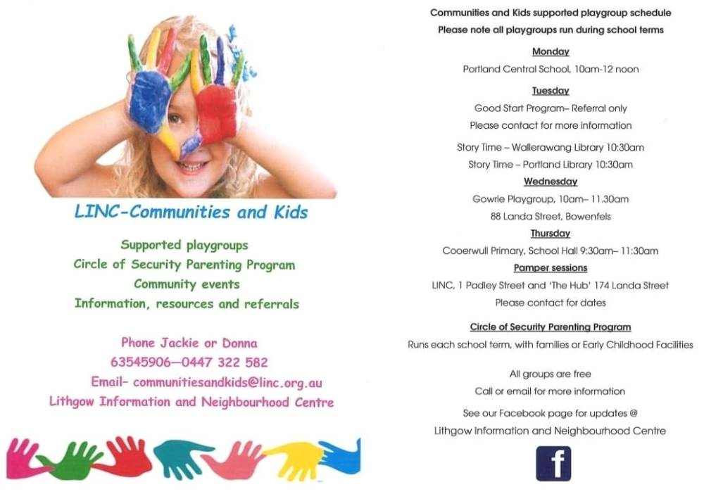linc playgroups lithgow