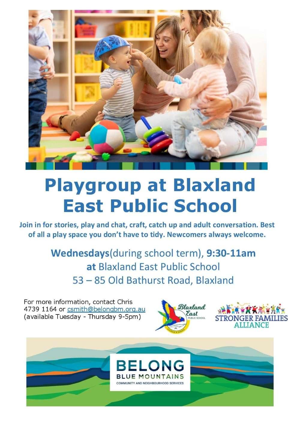 blaxland east public school playgroup lowerv blue mountains