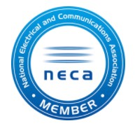blue mountains electrical neca member badge