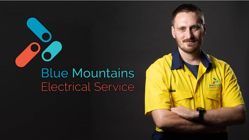 blue mountains electrical service banner
