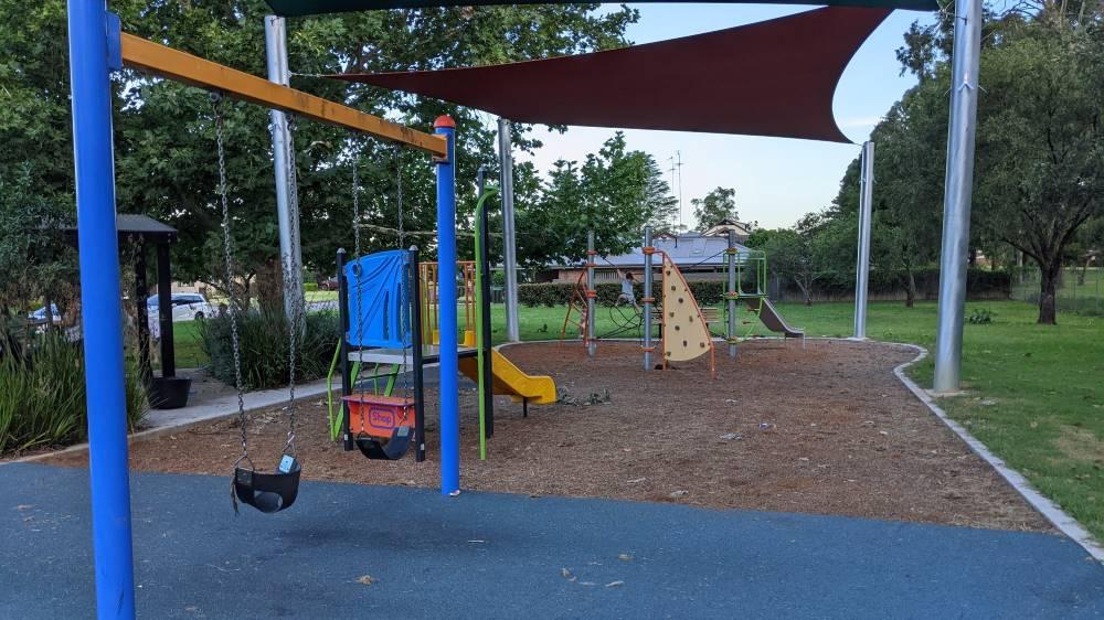 Pamela Parade Reserve Playground Leonay Blue Mountains softfall