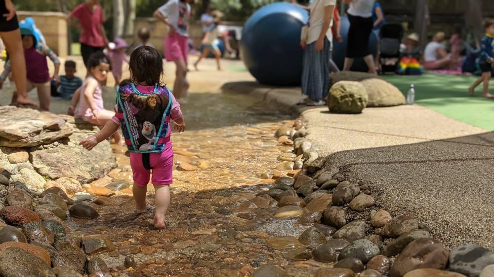 Putney Park pebble creek