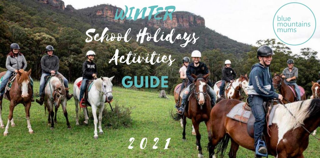 winter school holidays activities guide 2021 blue mountains