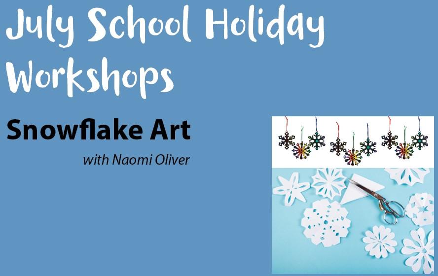 blue mountains libray art workshops winter school holidays
