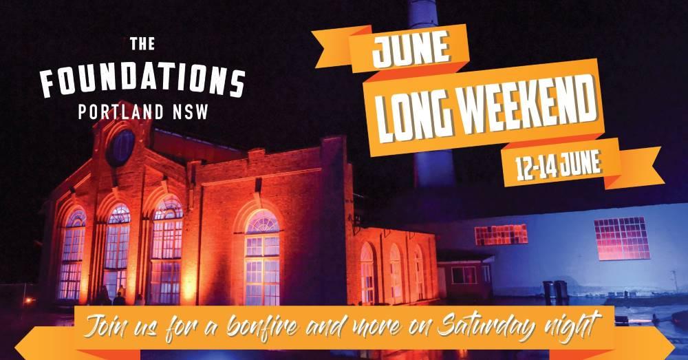 June Long Weekend Twilight Market, Bonfire & Fireworks
