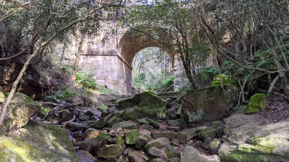 lennox bridge glenbrook with mossy rocks