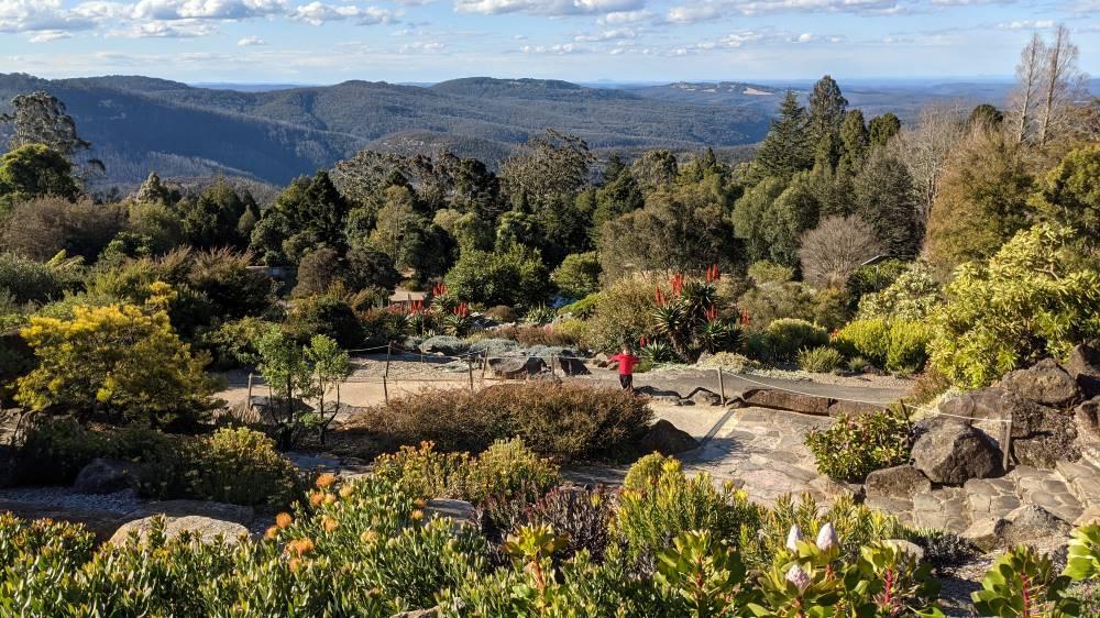 Blue Mountains Botanic Gardens Mount Tomah magnificent view