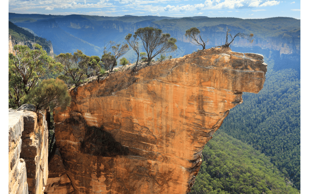 Things To Do In The Blue Mountains  hanging rock