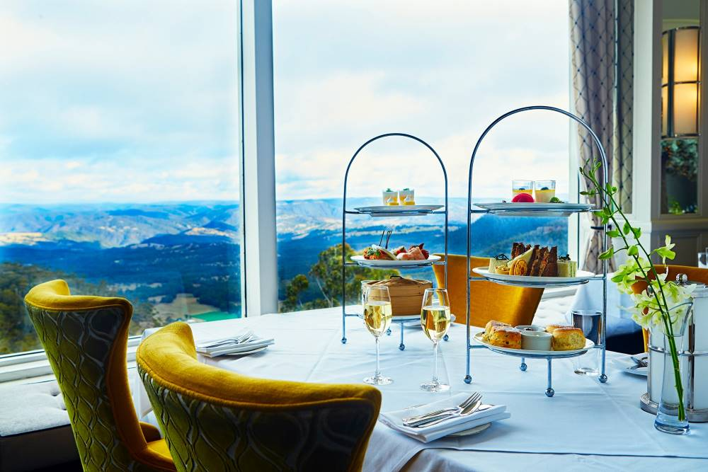 Things To Do In The Blue Mountains high tea at the hydro majestic blackheath