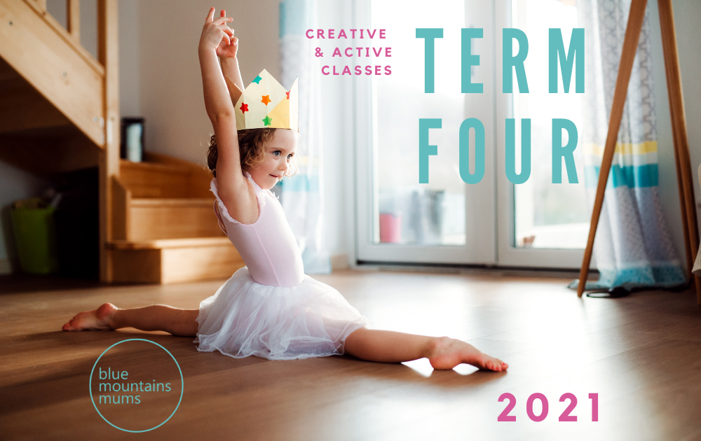kids classes in the blue mountains term 4