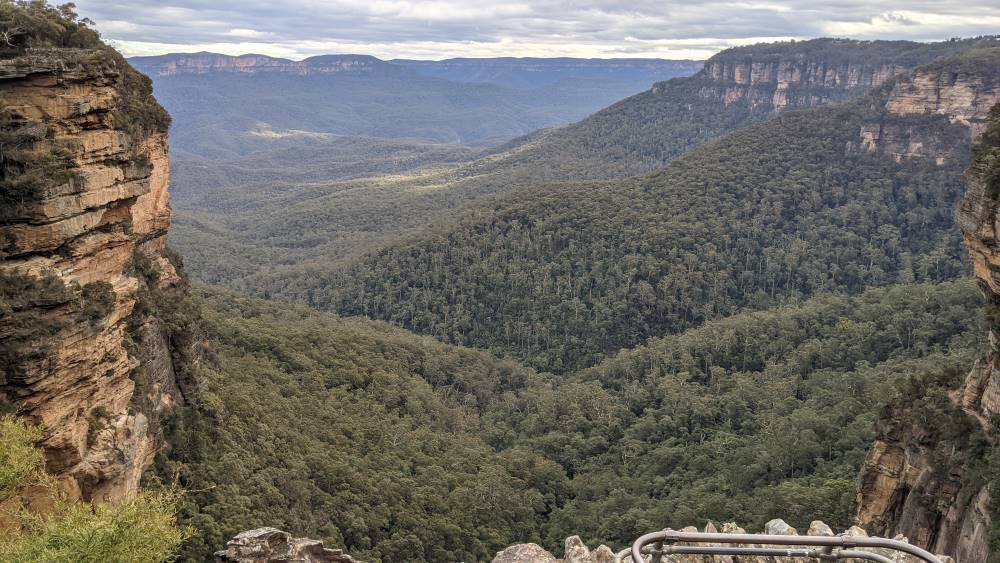 Things To Do In The Blue Mountains Fletcher's Lookout, Wentworth Falls