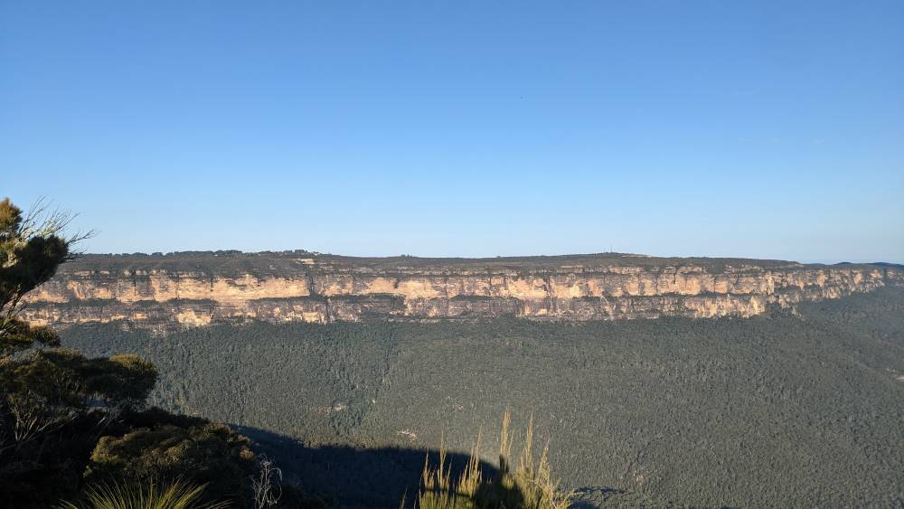 King's Tableland, from Sublime Point Lookout Leura.